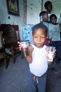 Friendly Water for the World Before and After Water