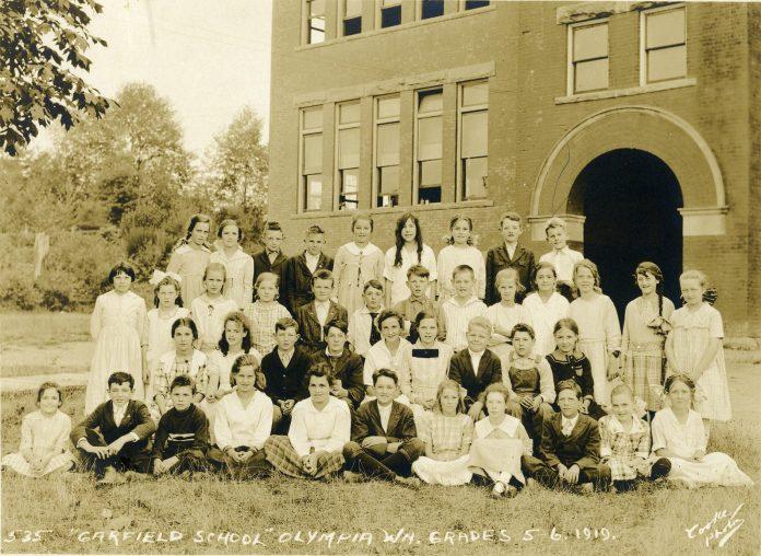 Garfield Elementary Olympia 1919