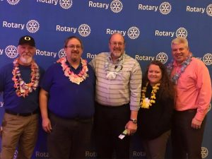 Hawks Prairie Rotary blog spring auction president and members