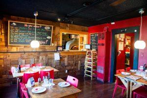 Pizzeria La Gitana Yelm Location Interior