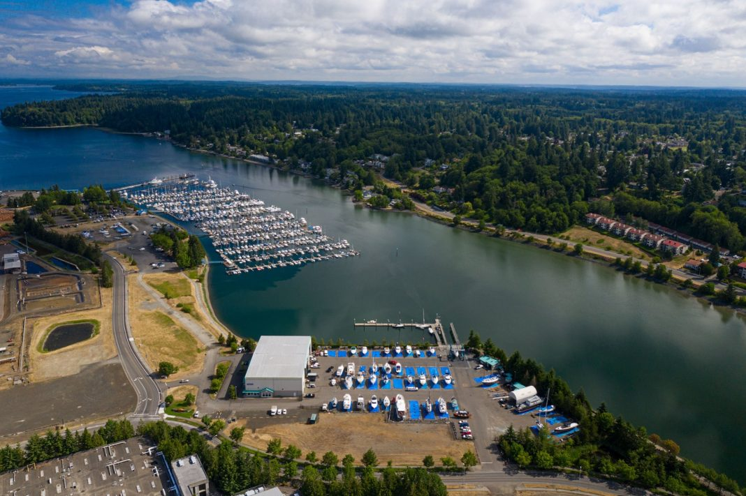 Port of Olympia Swantown Marina and Boatworks