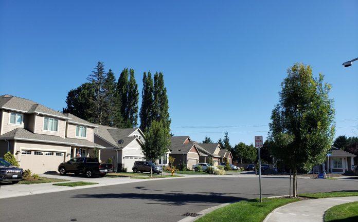 Rob Rice Homes New Homes in Tumwater Black Lake Palisades Streetscape