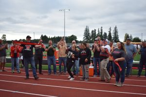 Yelm High School Football Field Ribbon Cutting