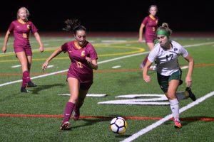 Capital girls soccer Penner