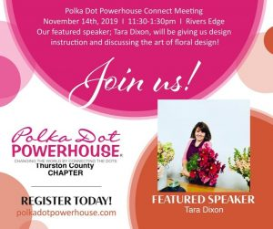 Polka Dot Power House Thurston County Chapter November Lunch - Guests Welcome @ Rivers Edge,