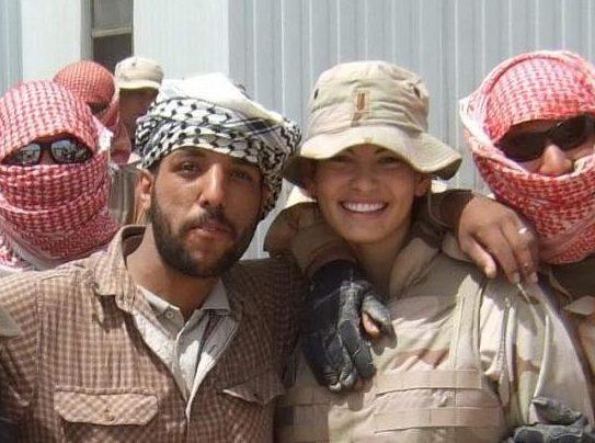 Rachael at Balad Air Base 2007