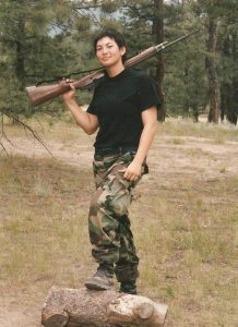 Rachael Tuller in the military