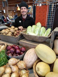 Olympia Farmers Market Piece by Piece Farm Steve Sharrett