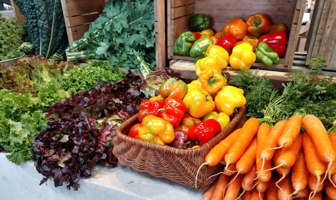 Olympia Farmers Market Piece by Piece Vegetable Bounty