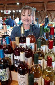 Olympia Farmers Market Wynoochee River Winery Denise