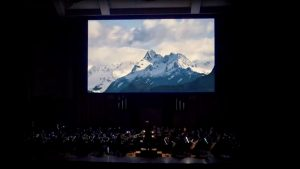 Olympia Symphony Orchestra A Welshman's View of America Huw Edwards Visual Accompaniment