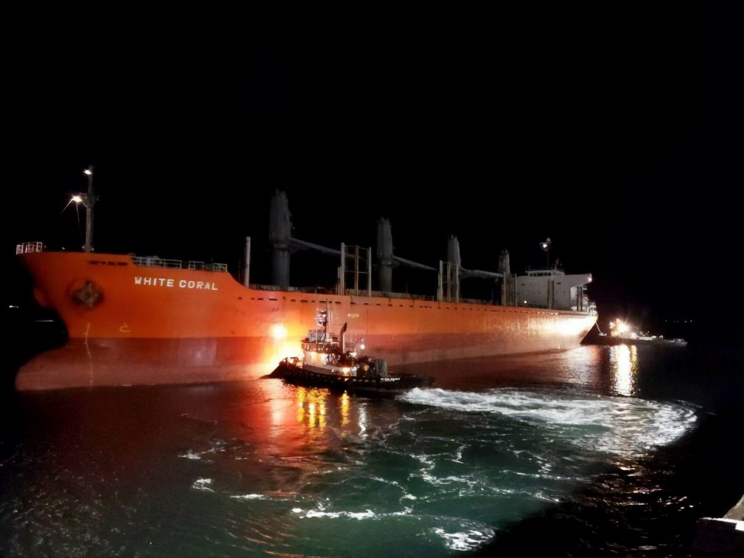Port of Olympia economic impact ships