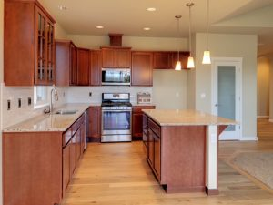 Rob Rice Home Ramblers for sale Lacey Kitchen with island
