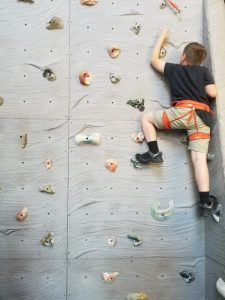 South Sound YMCA Climbing Wall