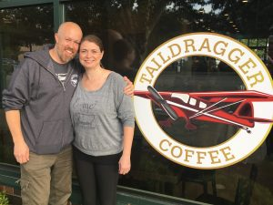 Taildragger Coffee Flies High Into Its Second Year Nate and Amy Mayes