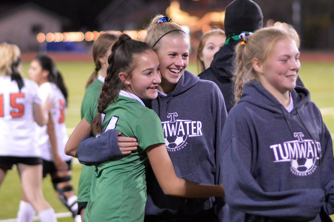 Tumwater girls soccer
