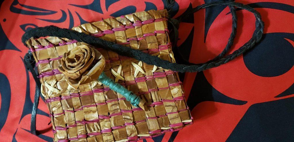 2019 Holiday Native Art Fair Kelly G Cedar Bag
