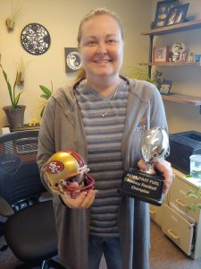 Acme Fuel-Sarah Fantasy Football League Winner