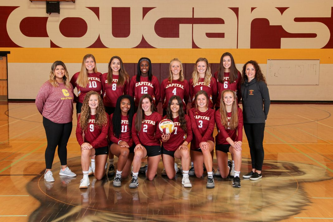 Capital state volleyball 2019