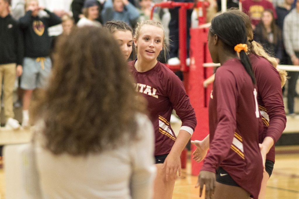 Capital High School state volleyball 2019