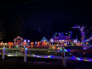 Christmas Lights in Olympia Candy Cane lane 2019 b