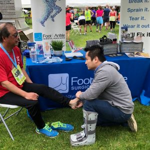 Foot & Ankle Surgical Associates FASA Family Wellness Diabetes Awareness Month Outreach