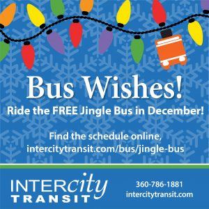 Intercity Transit Jingle Bus @ Intercity Transit