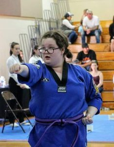 Louisa LaRose taekwondo