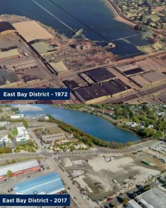Port of Olympia 100 years East Bay 1972 vs 2017