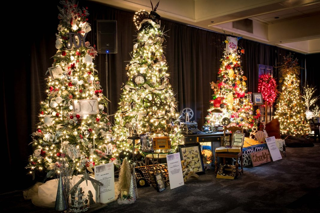 Providence-St-Peter-Foundation-Christmas-in-the-Forest-Fundraiser-Decorated-Trees