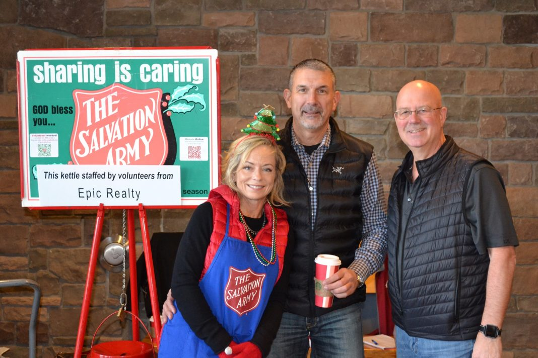 Rob Rice Homes Salvation Army Kettle Helena Rob Jeff