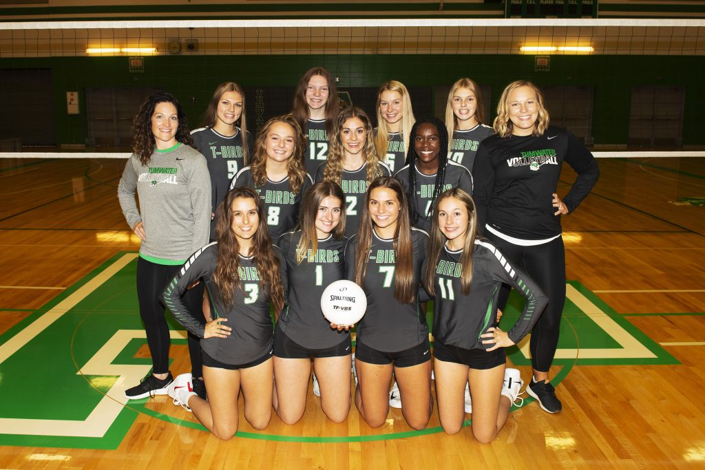 State 2A volleyball tumwater