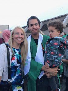 TOGETHER Lindsey Bates TOGETHER Community Schools Manager and student at graduation