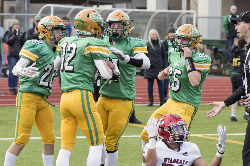 Tumwater state football quarterfinals