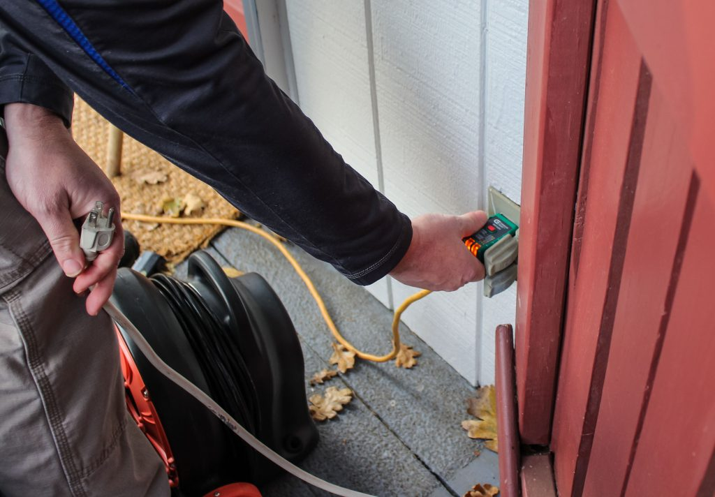 Boggs Inspection Services Electrical Fires Safety Tips Exterior Outlet