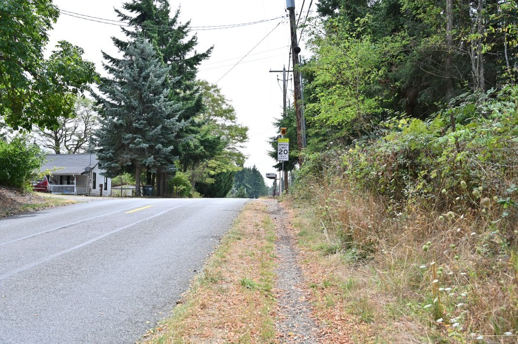 City of Yelm Mill Road