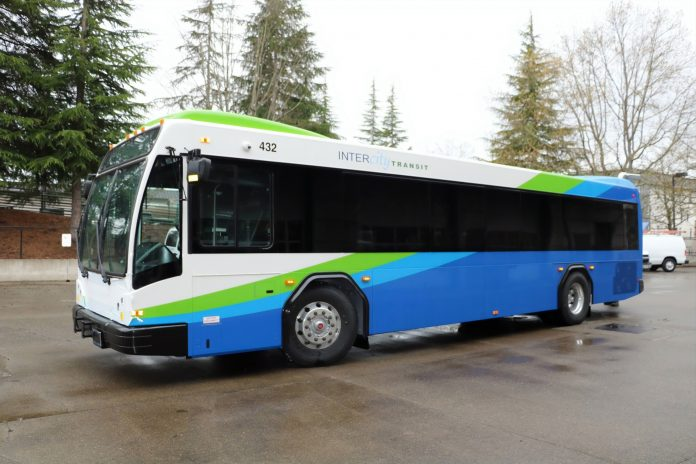 Intercity Transit Route 65 new buses