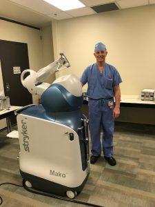 Olympia Orthopaedic Associates Dr Stephen Snow and Mako robot 5435