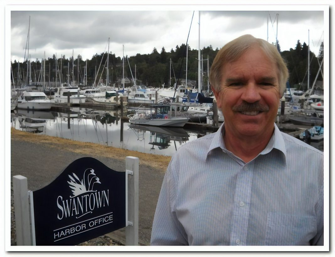 Port of Olympia Harbor Director Bruce Marshall retirement Swantown Marina