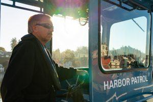 Port of Olympia Harbor Director Bruce Marshall retirement harbor patrol