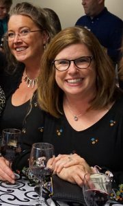 SCJ Alliance ESOP CEO Jean Carr and Cathy McKay community fundraising event
