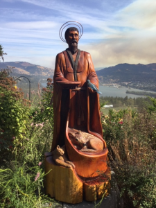 St Francis of Assisi by Shawn Hickox, Tenino