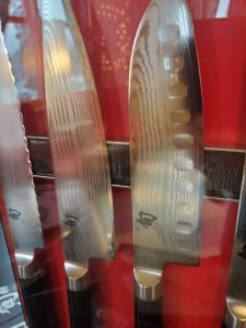 The Rolling Pin shun knife raffle