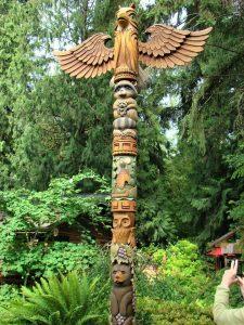 Totem by Shawn Hickox Tenino