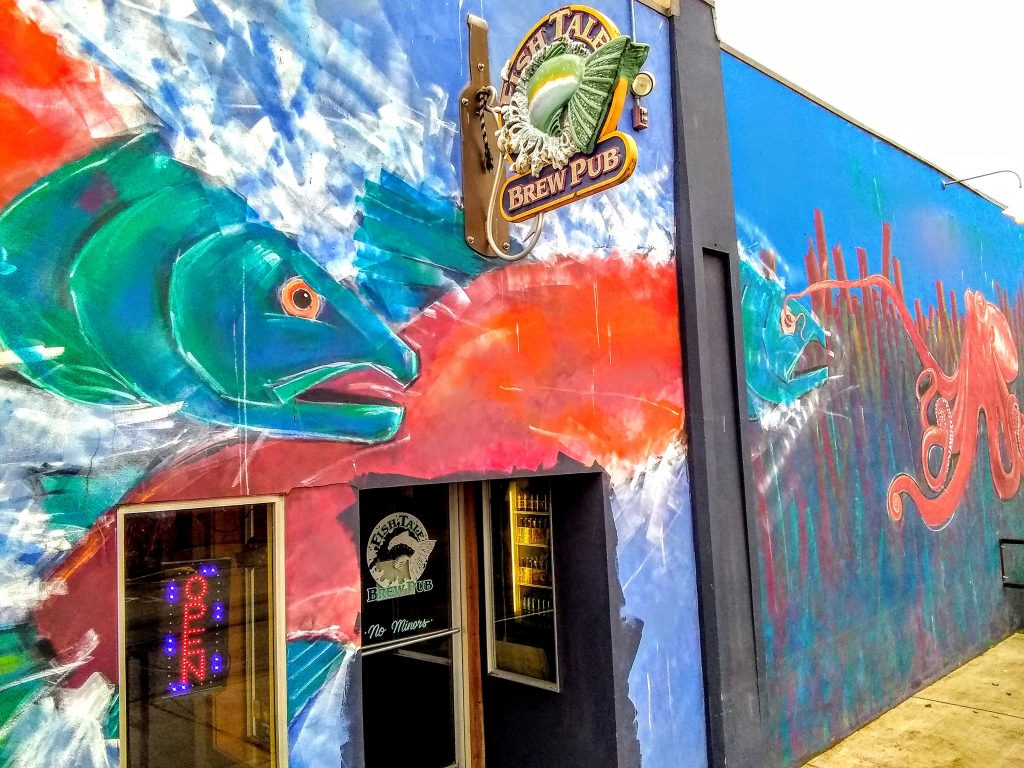 Fish Brewing and Fishtale Brew Pub New Owners, Tale Ales, Leavenworth Biers and Spire Mountain Cider Mural