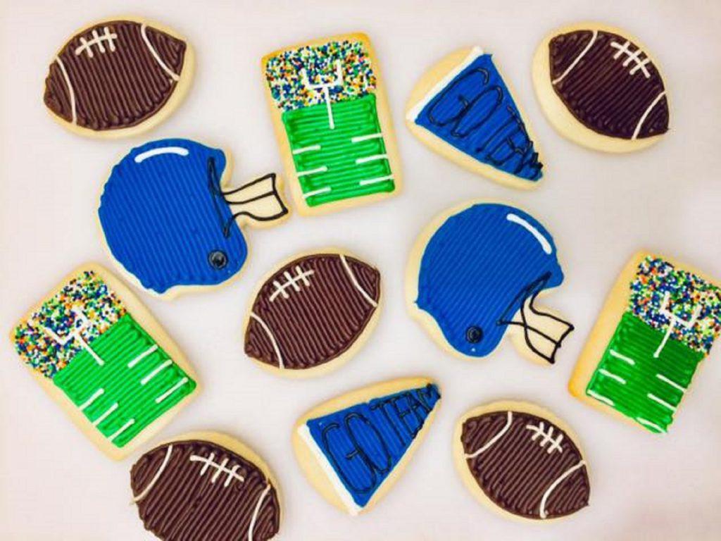 Crumbs & Company Football Cookies