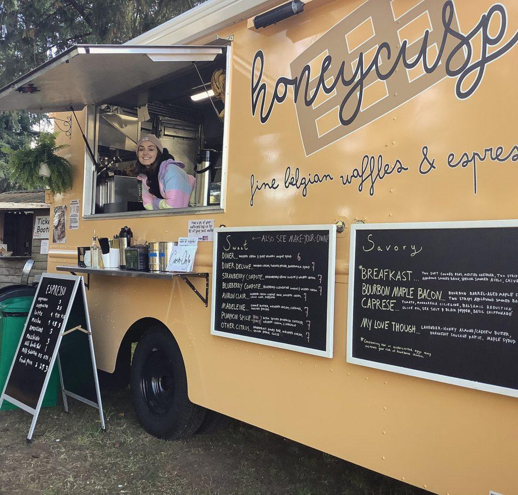 Honeycuspe food truck Olympia