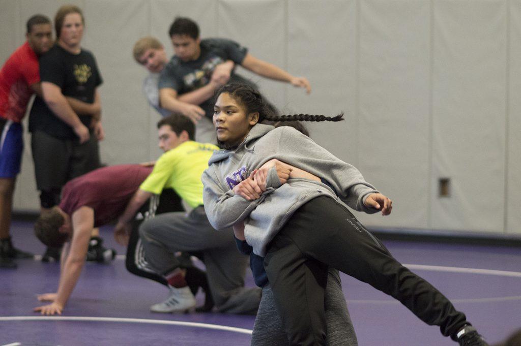 North Thurston girls wrestling