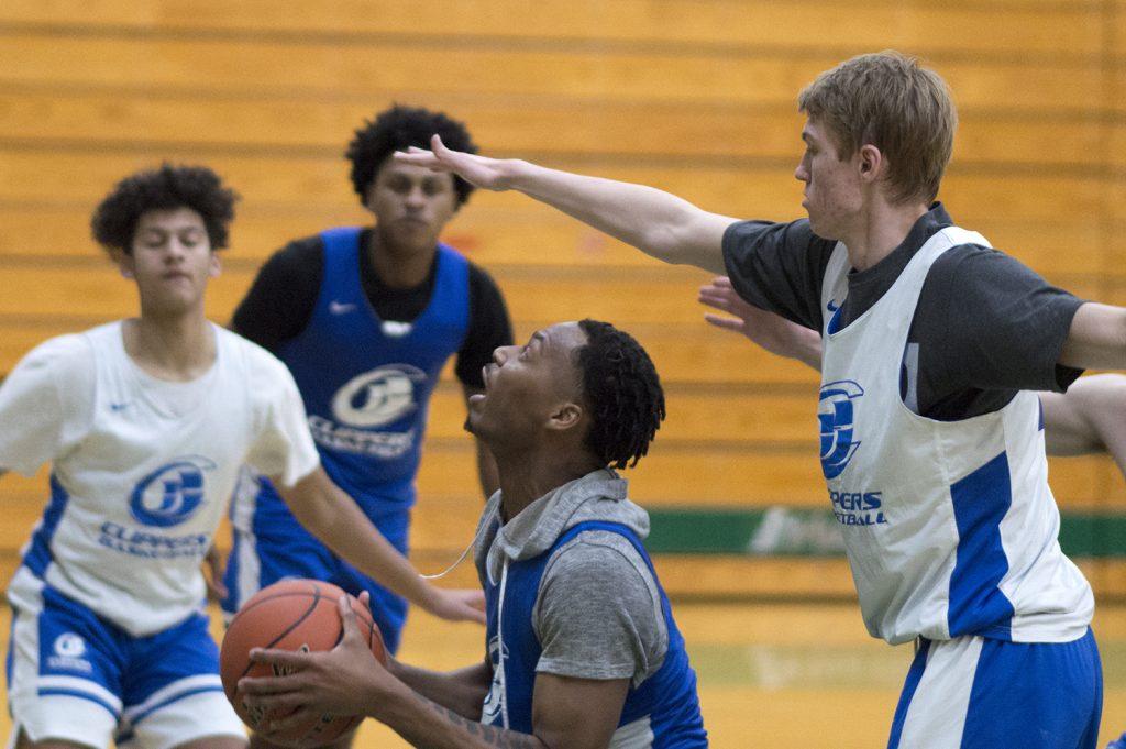 South Puget Sound mens basketball