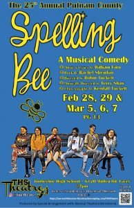 The 25th Annual Putnam County Spelling Bee - A Musical Comedy @ Timberline High School Theatre